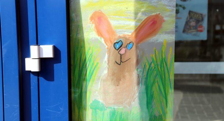 Ostergruß, Laufabzeichen und Känguru